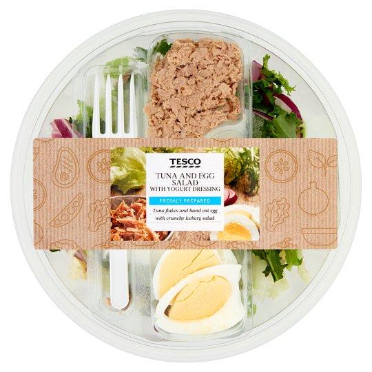 Tesco Tuna and Egg Salad with Yogurt Dressing 230 g