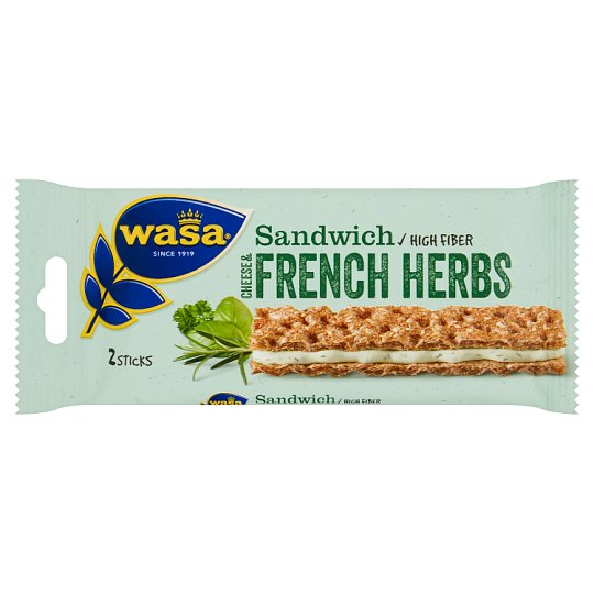 Wasa Sandwich Cheese & French Herbs 30 g