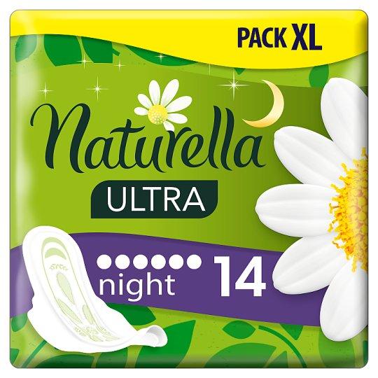 Naturella Ultra Night Camomile Podpaski x14