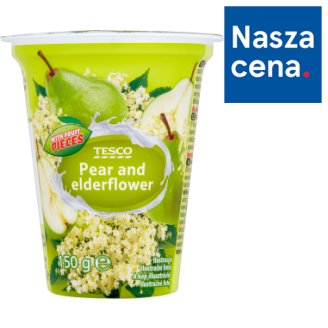 Tesco Pear and Elderflower Yoghurt 150 g