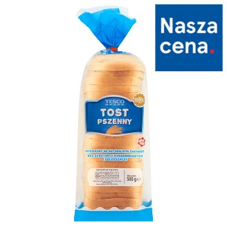 Tesco Wheat Toast Wheat Bread 500 g