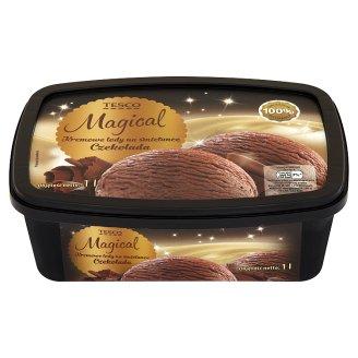 Tesco Magical Czekolada Kremowe lody na śmietance 1 l