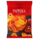 Tesco Paprika Flavour Chips 225 g