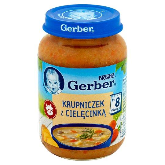 Gerber Barley Soup with Veal after 8 Months Onwards 190 g