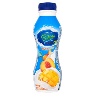 Tesco Bifido Peach & Mango Yogurt Drink 300 g