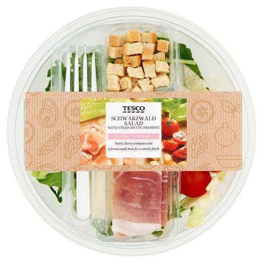 Tesco Schwarzwald Salad with Vinaigrette Dressing 210 g