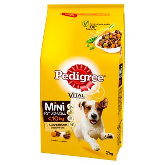 Pedigree Vital Protection Mini Adult <10 kg Complete Food with Chicken and Vegetables 2 kg