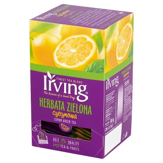 Irving Lemon Green Tea 30 g (20 Tea Bags)