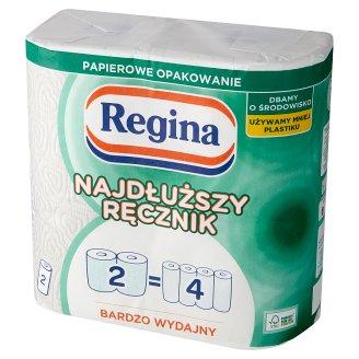 Regina Najdłuższy Ręcznik Very Efficient Universal Towel 2 Ply 2 Rolls