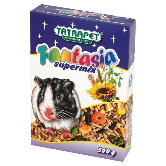 Tatrapet Fantasia Supermix Mieszanka paszowa pełnoporcjowa dla świnek morskich 500 g