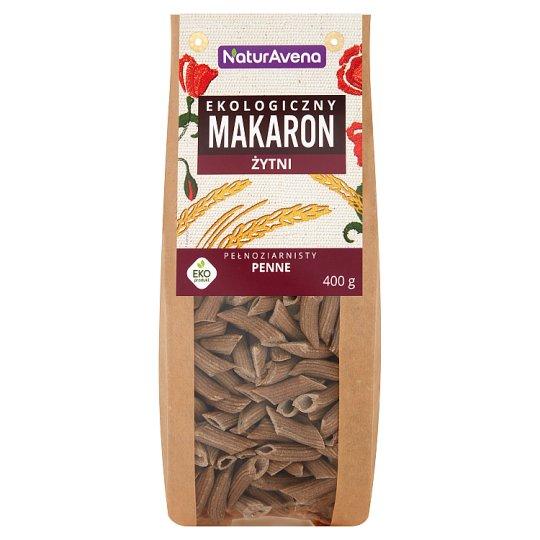 NaturAvena Organic Wholegrain Rye Pasta Penne 400 g