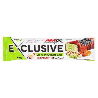 Amix Exclusive Pistachios & Caramel Flavour Protein Bar 85 g