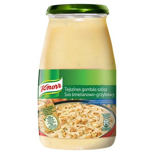 Knorr Cream and Mushroom Sauce with Champignons and Parsley 500 g