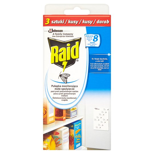 Raid Trap Against Food Moth 3 Pieces