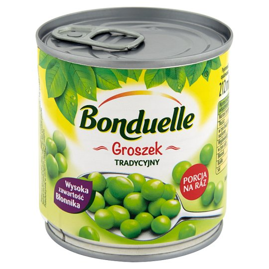 Bonduelle Traditional Canned Peas 200 g
