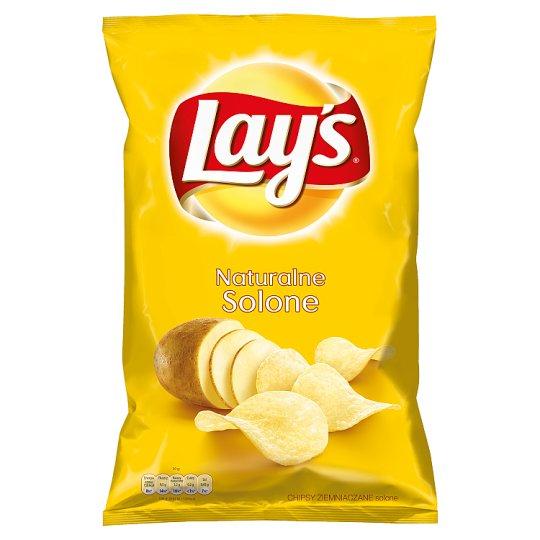 Lay's Naturalne solone Chipsy ziemniaczane 150 g