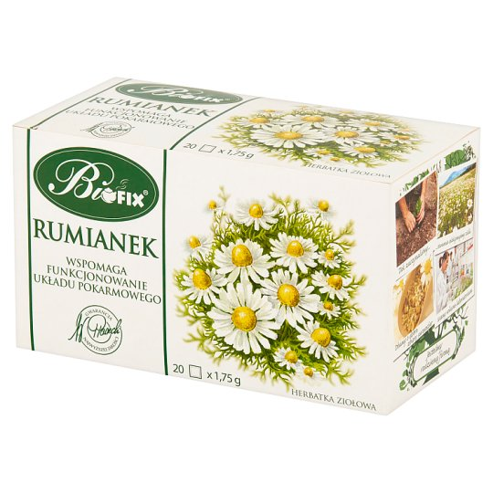 Bifix Chamomile Herbal Tea 35 g (20 Tea Bags)