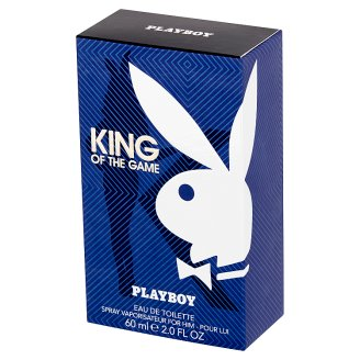 Playboy King of the Game Woda toaletowa dla mężczyzn 60 ml