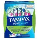 Tampax Compak Pearl Super Tampony zaplikatorem, 18 sztuk