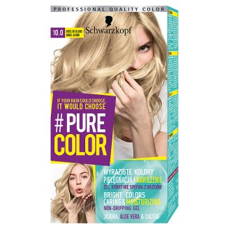 Schwarzkopf #Pure Color Farba do włosów 10.0 anielski blond