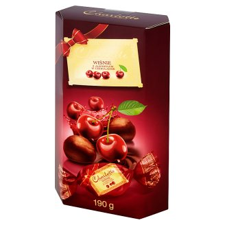 Charlotte Cherries with Alcohol Coated with Chocolate 190 g