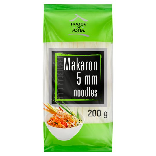 House of Asia Makaron ryżowy 5 mm 200 g