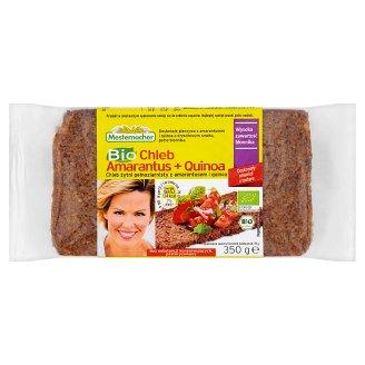 Mestemacher Bio Chleb żytni pełnoziarnisty z amarantusem i quinoa 350 g