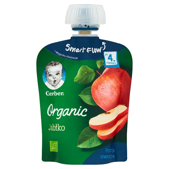 Gerber Organic Apple after 4. Months Onwards Dessert 90 g