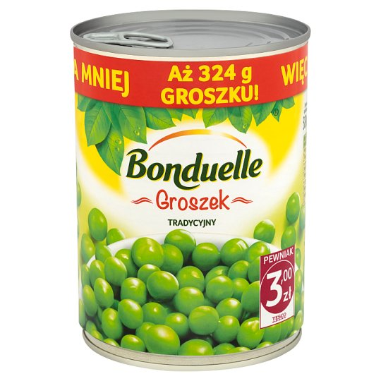 Bonduelle Traditional Peas 540 g