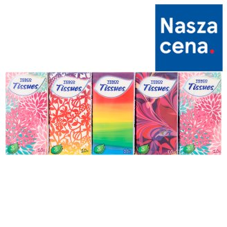 Tesco Tissues 3 Ply 10 x 10 Pieces