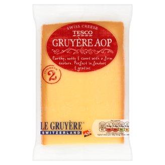Tesco Gruyère AOP Pełnotłusty twardy ser 195 g