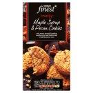 Tesco Finest Ciastka maślane z kawałkami orzeszków pekan i syropem klonowym 200 g