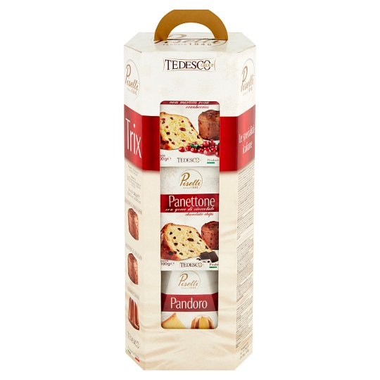 Panettone and Pandoro Confectionery Products 280 g (3 Pieces)