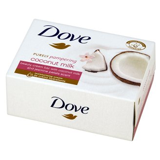 Dove Purely Pampering Coconut Milk Kremowa kostka myjąca 100 g