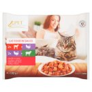 Tesco Pet Specialist Chunks in Sauce Food for Adult Cats 4 x 100 g