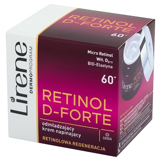 Lirene Retinol D-Forte 60+ Rejuvenating Revitalift Day Cream 50 ml