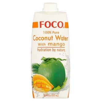 Foco Woda kokosowa z puree z mango 500 ml