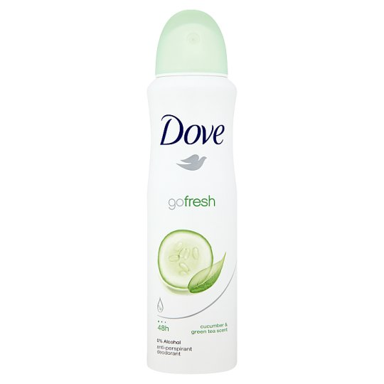 Dove Go Fresh Cucumber and Green Tea Anti-Perspirant Deodorant 150 ml