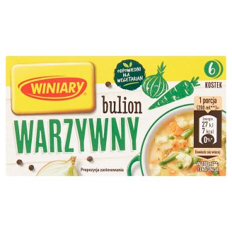 Winiary Vegetable Stock Cubes 60 g (6 Pieces)