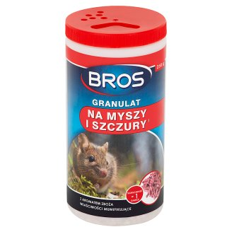 Bros Granules Anti Mouse and Rats 250 g