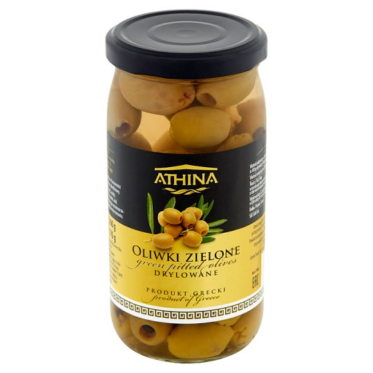 Athina Green Pitted Olives 360 g