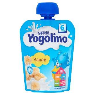 Nestlé Yogolino Deserek owocowo-mleczny banan po 6 miesiącu 90 g
