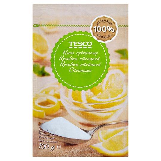 Tesco Kwas cytrynowy 100 g