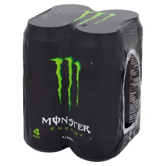 Monster Energy Carbonated Energy Drink 4 x 500 ml