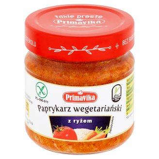 Primavika Paprykarz wegetariański z ryżem 160 g