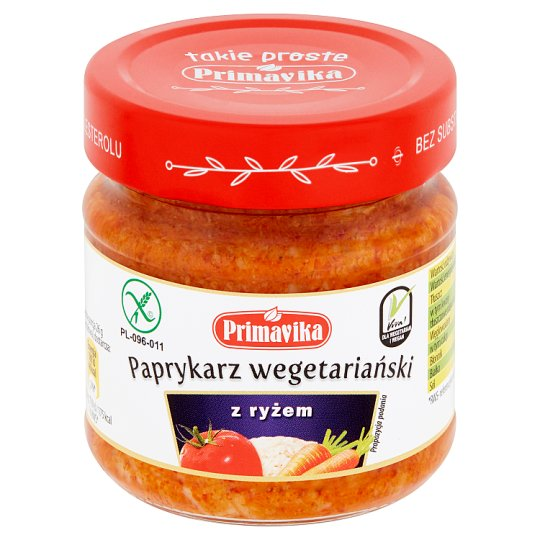 Primavika Vegetarian Paprikash with Rice 160 g