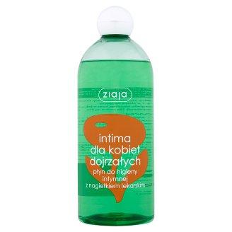 Ziaja Intima Dla kobiet dojrzałych Płyn do higieny intymnej z nagietkiem lekarskim 500 ml