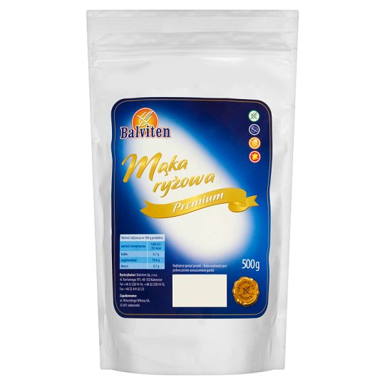 Balviten Premium Rice Flour 500 g