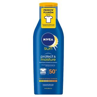 NIVEA Sun Protect & Moisture Nawilżający balsam do opalania SPF 50+ 200 ml