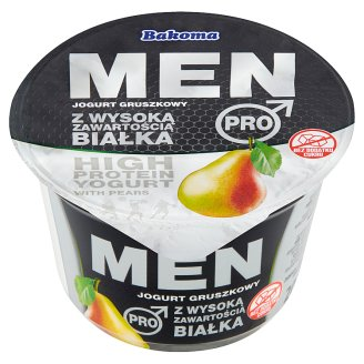 Bakoma Men Pro High Protein with Pears Yogurt 200 g